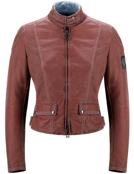 Chaqueta belstaff fordwater mujer - 046700299#ROJO