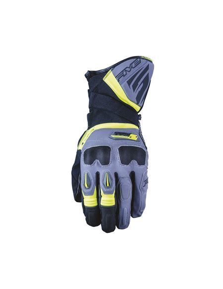 Guantes five tfx2 wp gris / amarillo - 046071281229