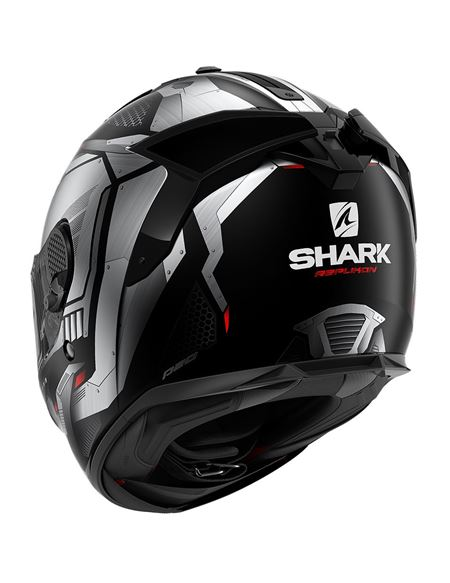 Casco shark spartan gt replikan blanco - negro - 046071282028 (1)