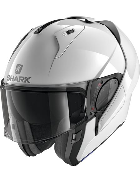 Casco shark evo-es blank modular blanco brillo - 046071282047 (1)