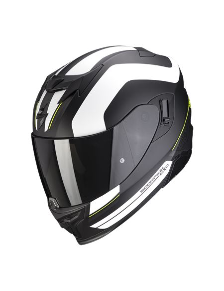 Casco scorpion exo-520 air lemans negro/blanco - 046071282088