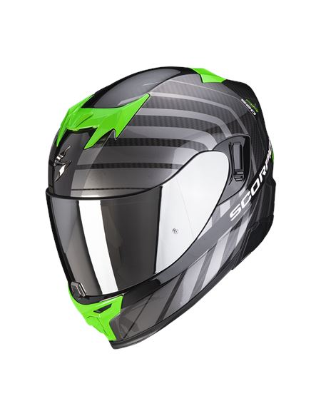 Casco scorpion exo-520 air shade negro verde - 046071282089