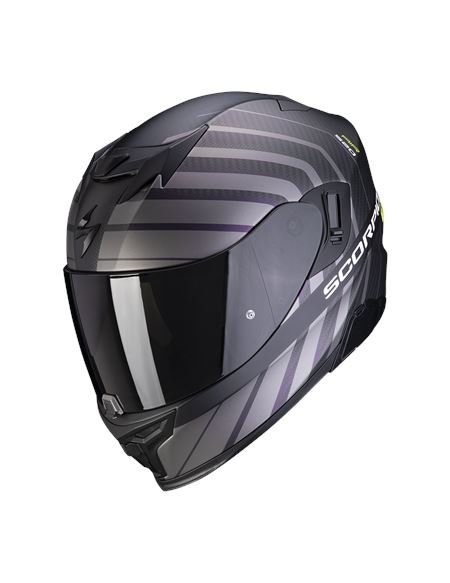 Casco scorpion exo-520 shade air negro mate/ amari - 046071282090