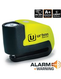 Antirrobo urban ur6 alarm warning amarillo