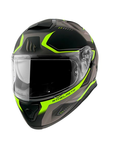 Casco mt ff102sv thunder 3 sv turbine c3 am/fl mat - 046071282429
