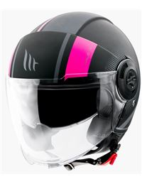 Casco mt of502sv viale sv phantom rosa mate