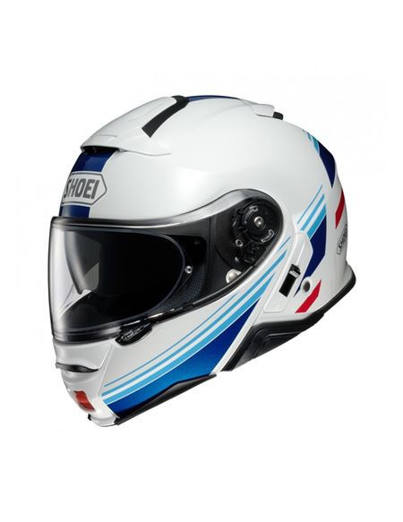 Casco shoei neotec 2 separator tc-10 blanco-azul - 046071282555 (1)