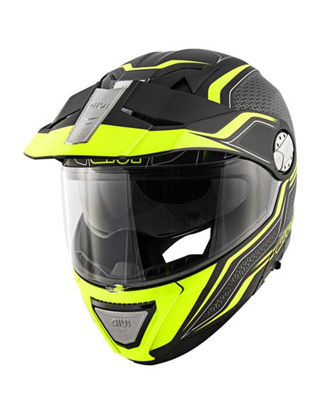 Casco givi x33 canyon layers negro mate- amarillo - 046071282804#NEGRO-AMARILLO(1)