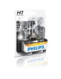 Lampara h7 30%+ vision moto philips