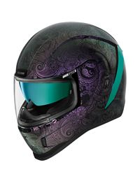 Casco icon airform chantilly opal lila camaleón