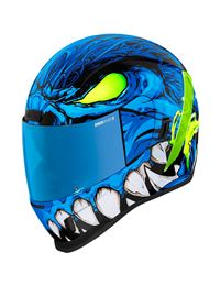 Casco icon airform manik´r azul