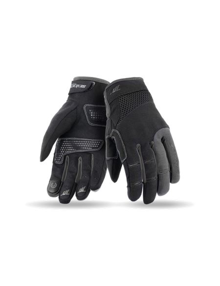 Guantes seventy sd-c50 mujer negro - gris - 046071283181#NEGRO-GRIS(1)