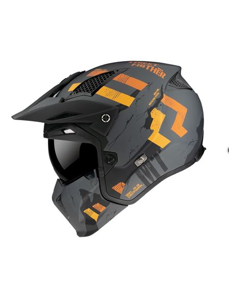 Casco mt streetfigthter sv skull a12 gris mate - 046071283645#GRIS-MATE(1)