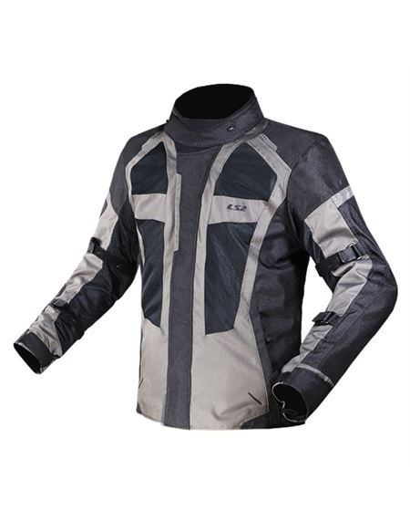 Chaqueta ls2 scout gris oscuro - 046071285000#GRIS-OSCURO(1)