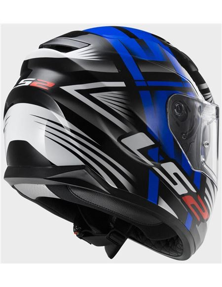 Casco ls2 ff320 bang blue stream - 0460702745#AZUL(2)