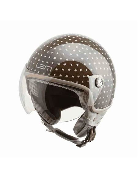 Casco lem jet roger dusty brown - 0460703596#MARRON(4)
