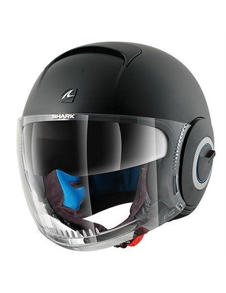 Casco shark nano negro mate
