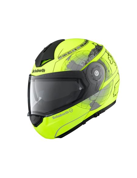 Casco schuberth c3 pro europe fluor mate - 0460704061#AMARILLO-FLUOR(1)