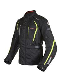 Chaqueta oxford subway 2.0 negra-fluor