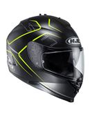 Casco hjc integral is-17 lank - 0460704419#NEGRO-FLUOR(1)