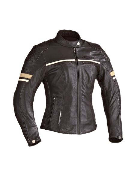 Chaqueta ixon motors lady marron - MOTORS_LADY_MARRON