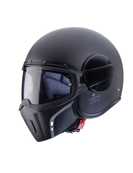 Casco caberg ghost negro mate
