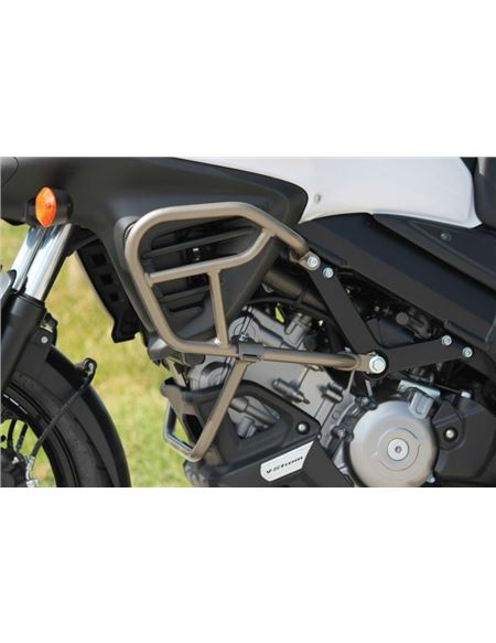 Defensas motor dl650al2-l5 titanio v-strom - 990D0-11J00-031_DEFENSAS_TITANIO