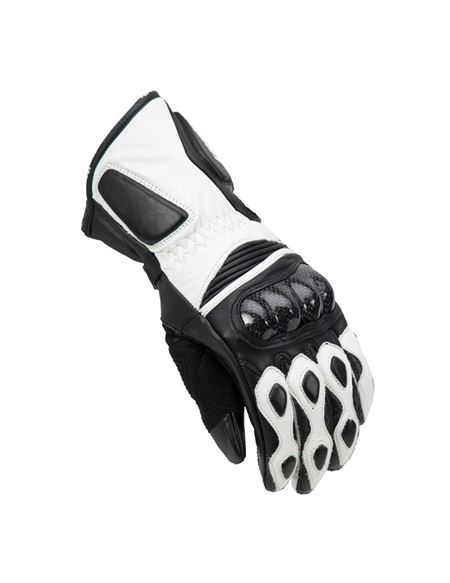 Guante unik r-1 lady racing invierno - 0460704730#BLANCO-NEGRO(1)