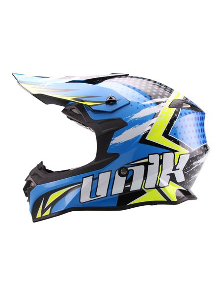 Casco cross unik cx-14 speed - 0460705295#AZUL-AMARILLO (3)