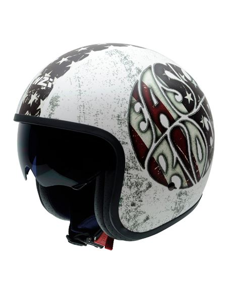 Casco nzi rolling sun graphic easy rider