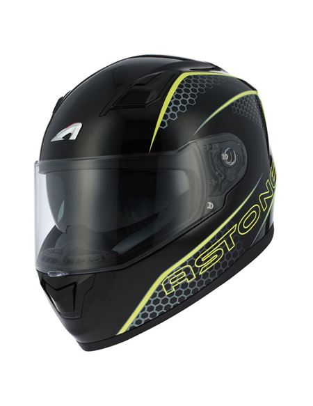 Casco integral astone gt900 graphic exclusive - 0460705436#NEGRO-AMARILLO (1)