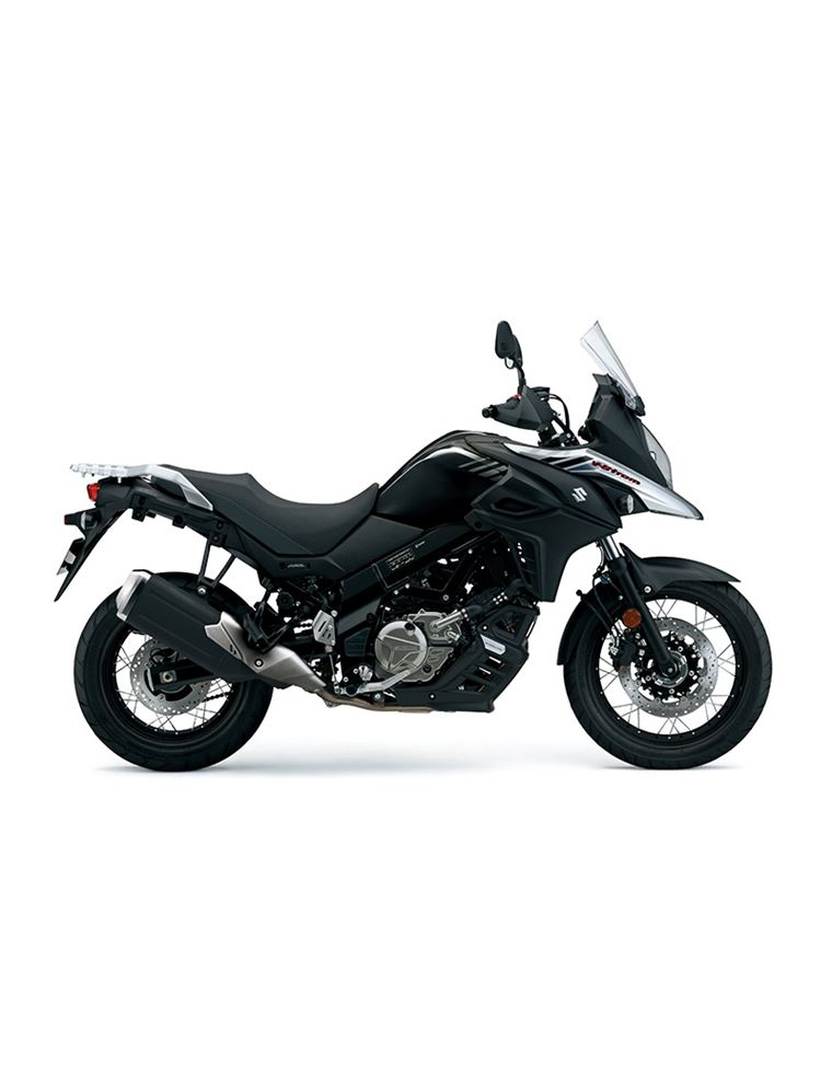 suzuki v strom 650 xt abs 2017 negra. Black Bedroom Furniture Sets. Home Design Ideas