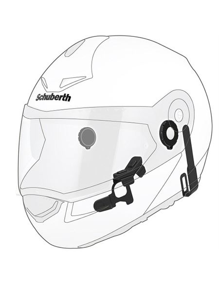 Intercomunicador schuberth sc10u c3 pro/basic/e1 - 0460705733 (3)