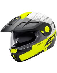 Casco schuberth e1 cross fire amarillo