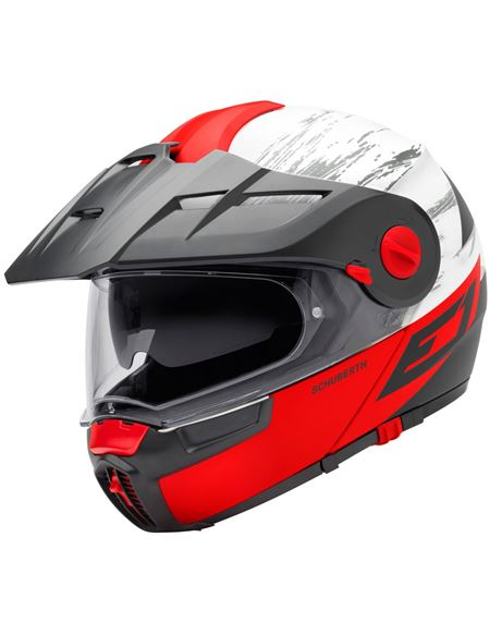 Casco schuberth e1 cross fire rojo - 0460705841#ROJO(1)