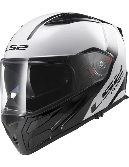 Casco ls2 ff324 metro rapid blanco brillo negro - 0460705850#BLANCO(1)