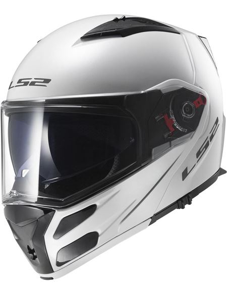 Casco ls2 ff324 metro solid blanco brillo - 0460705852#BLANCO(1)