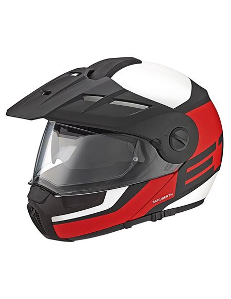 Casco schuberth e1 guardian rojo - 0460705032#ROJO(1)