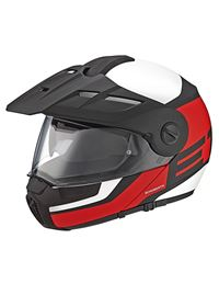 Casco schuberth e1 guardian rojo