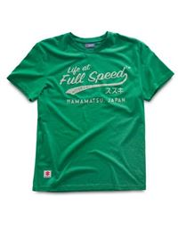 Camiseta suzuki life at full speed verde talla m