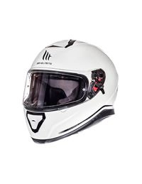 Casco mt thunder 3 sv solid blanco