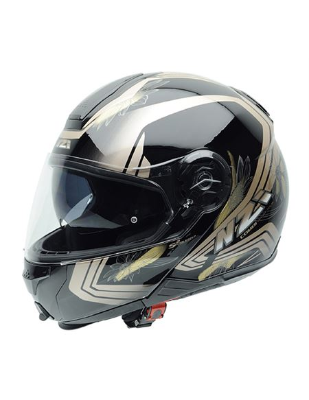 Casco modular nzi combi duo graphics makeup - 0460706223#NEGRO(2)