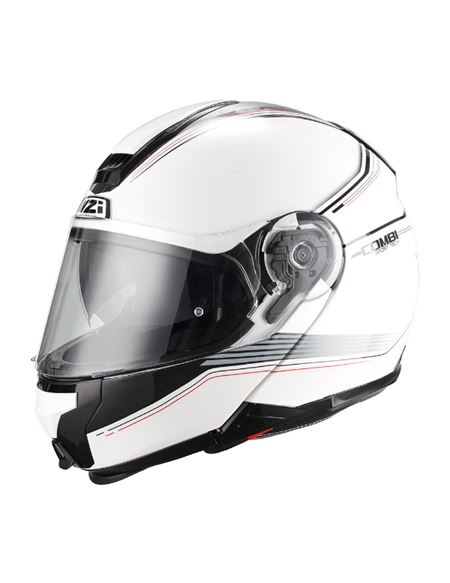 Casco modular nzi combi duo graphics online - 0460706225#BLANCO(1)