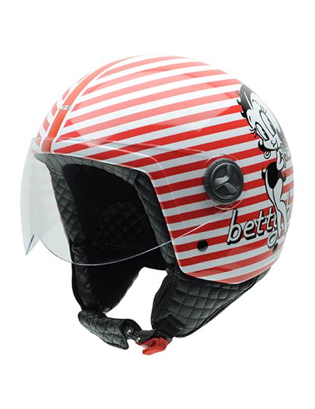 Casco betty boop zeta riga by nzi - 0460706248