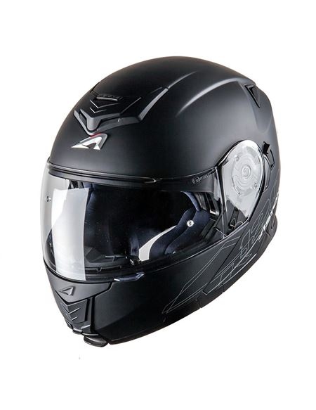 Casco astone rt-1200 mono negro mate