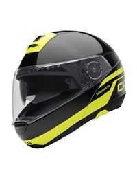 Casco schuberth c4 pulse negro-amarillo