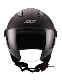 Casco unik cj-16 negro-mate