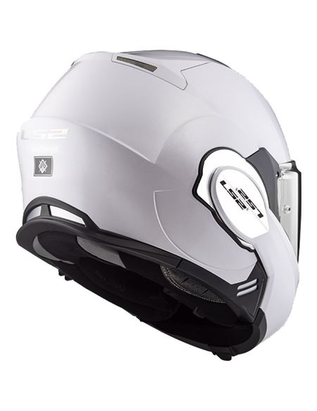 Casco ls2 ff399 valiant blanco brillo - LS2-FF399-4