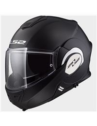 Casco ls2 ff399 valiant negro mate