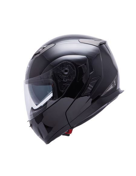 Casco mt flux solid negro brillo - 0460708083#NEGRO